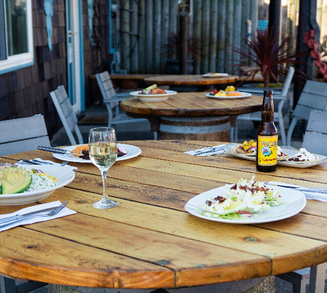 Pacific Kitchen - Outdoor seating